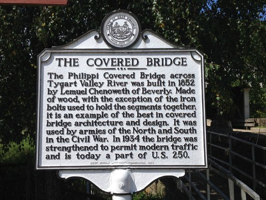 State historical marker for the bridge