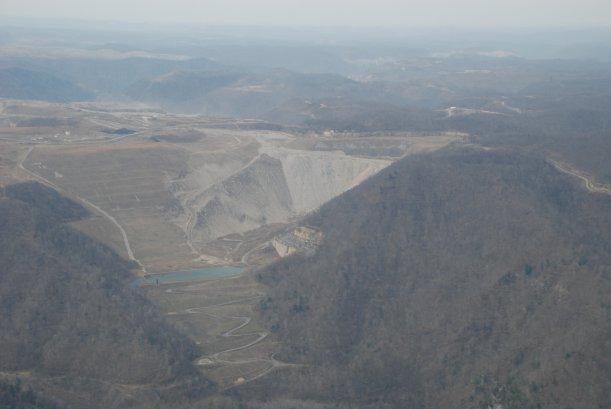 Mountaintop Removal (MTR) Coal Mining.