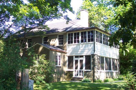 Eleanor Roosevelt's home Val-Kill, which originally operated as a furniture factory