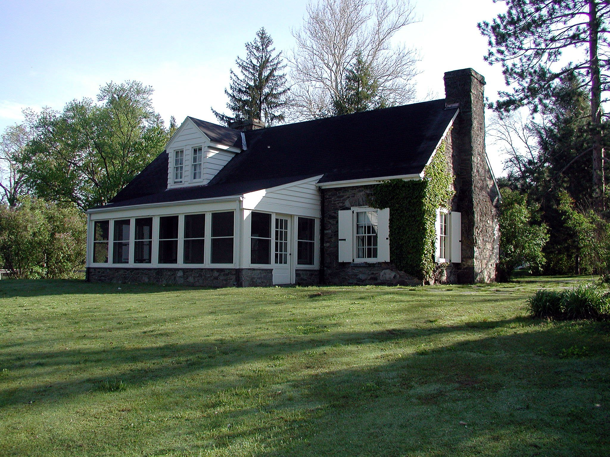 The first cottage occupied by Eleanor Roosevelt, the Stone Cottage