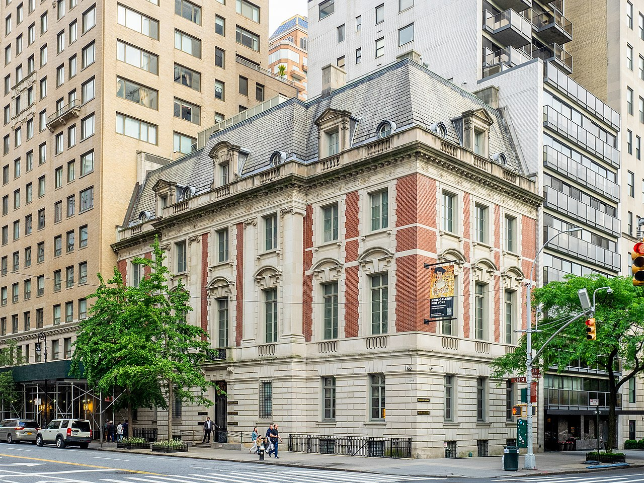 The William Star Miller House, home of the Neue Galerie.