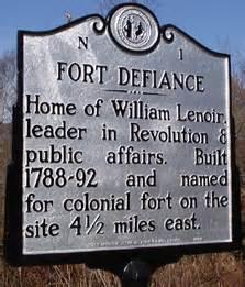 Fort Defiance Historical Marker