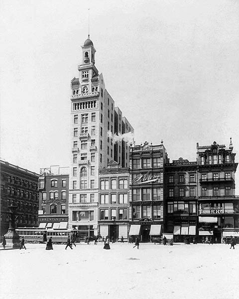 The Bulding in 1894