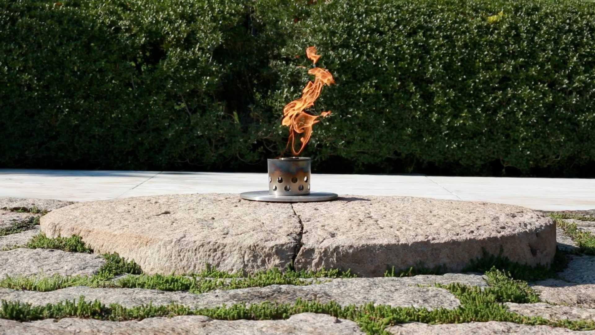 John F. Kennedy's Eternal Flame.