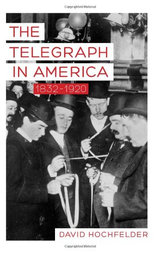 Learn more about the history of the telegraph with this book by historian David Hochfelder-click the link for more info about the book.