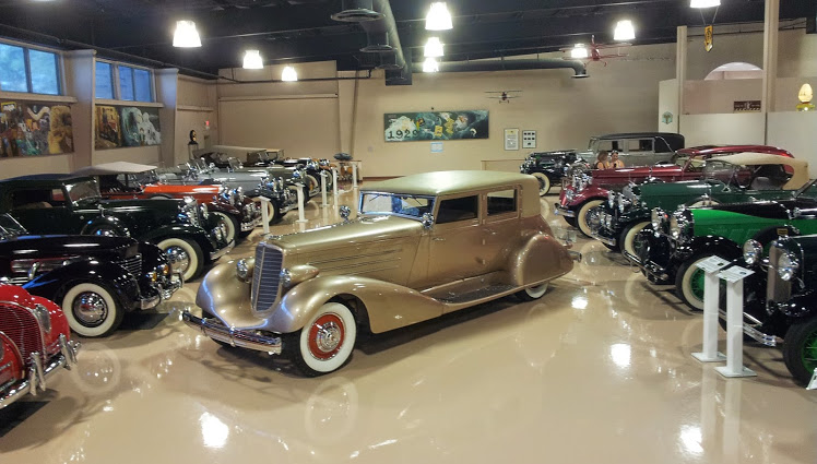 Opened in 2009, this automotive history museum includes a collection of cars that range from the early 1900s to the late 1950s.