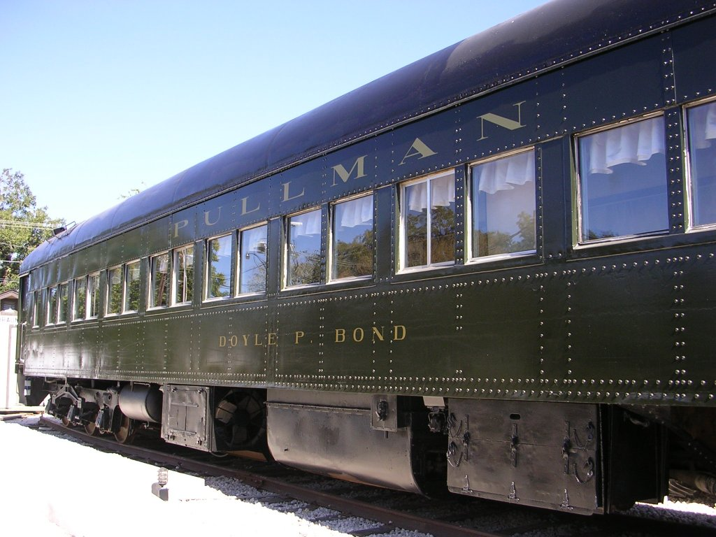 The museum's Pullman Dining Car has been restored and is available for special events.
