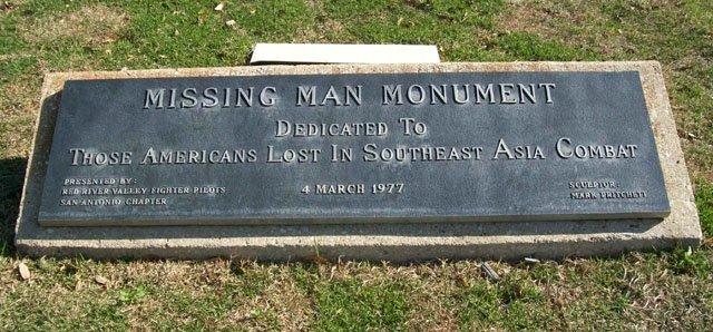 Missing Man Monument Historical Marker https://www.hmdb.org/Marker.asp?Marker=31134