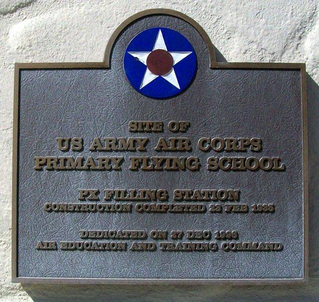 PX Filling Station Historical Marker https://www.hmdb.org/Marker.asp?Marker=31775