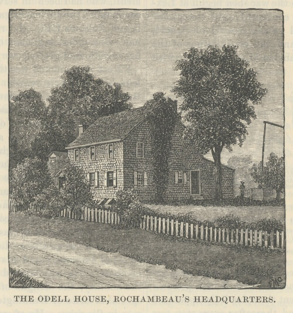 Odell House Drawing