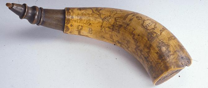 Powder Horn, United States, 1760.