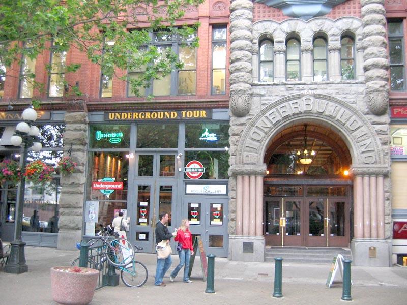 Underground Tour Building in Pioneer Square