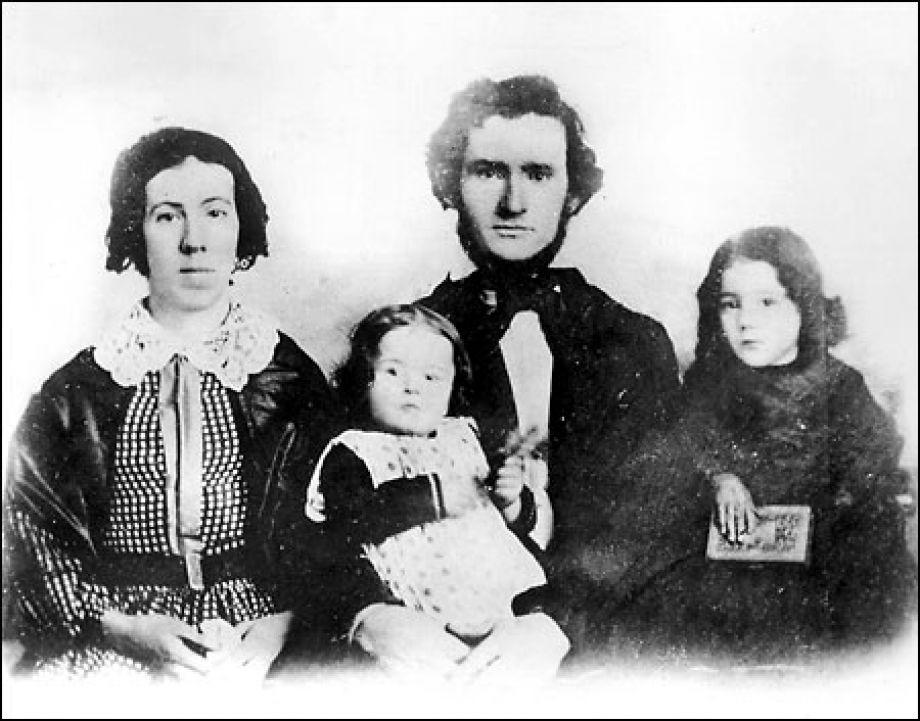David Denny and his family.