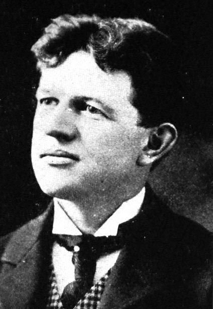 Architect Frank Lucius Packard (1866-1923) as a young man.