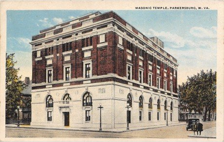 A later postcard from the 1920s.