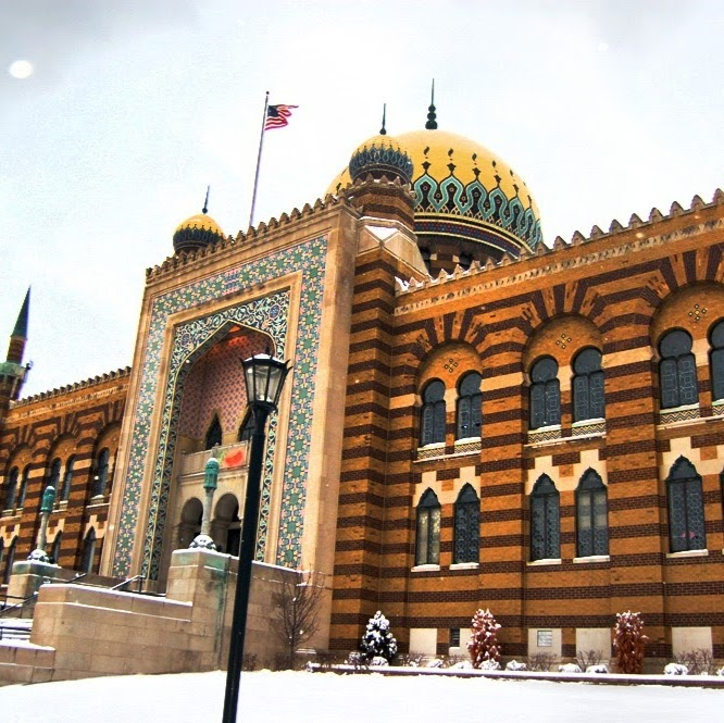 View of the Tripoli Shrine Temple