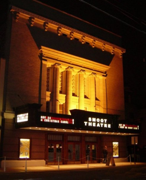 The Smoot Theatre in 2009.