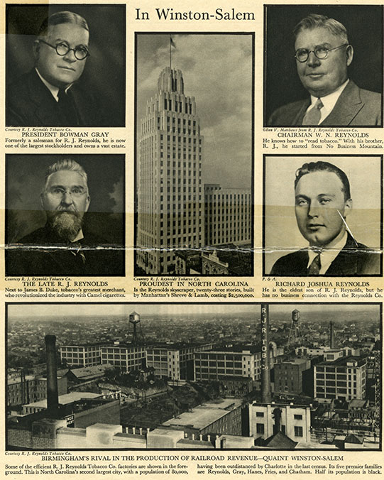 Fortune Magazine publication, 1931