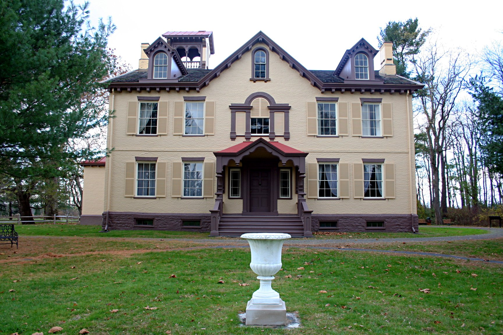 Martin Van Buren's former home and farm are known as Lindenwald.