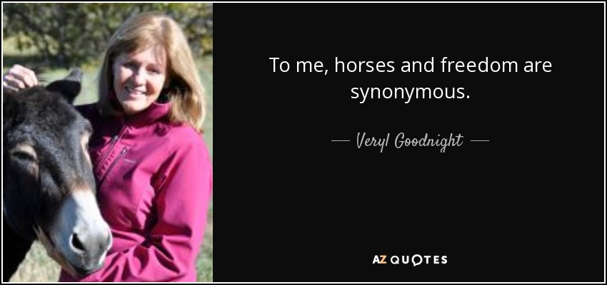 Veryl Goodnight, artist, who gives her opinion on what horses represent. Her opinion led to the creation of this monument.
