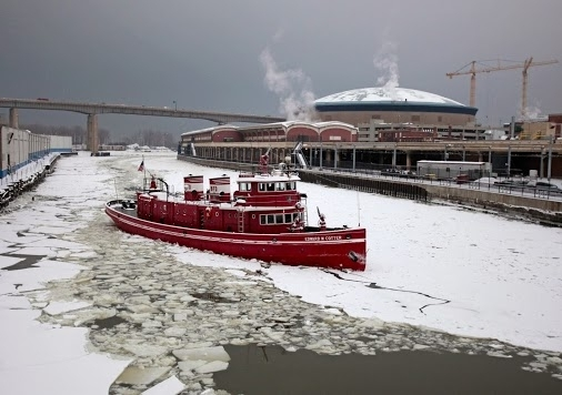 The Cotter plays an important role in breaking the ice in Buffalo's waterways