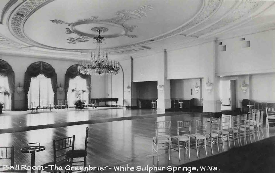 The Greenbrier Ballroom,  Cameo. (https://www.facebook.com/media/set/?set=o.553348398056027&type=1  Early West Virginia and its History Facebook Page