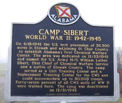 Camp Sibert Marker