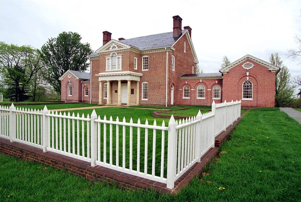 Mount Clare Museum House is Baltimore's largest museum house.