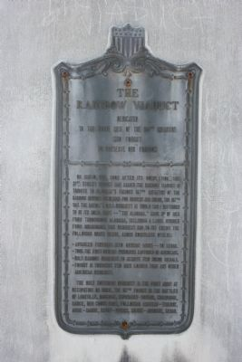 The Marker of the Rainbow Viaduct