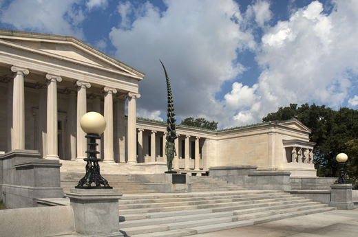 The Albright–Knox Art Gallery was built in 1905 and is one of the country's top art museums.