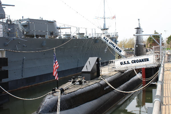 The USS Little Rock and USS Croaker