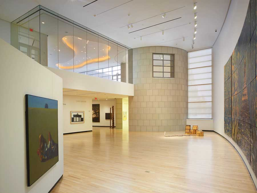 The museum features works primarily by artists from western New York.