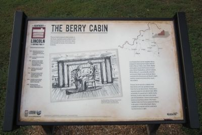 The Berry Cabin Marker. Thomas Lincoln proposed to Nancy, she accepted, and were married on June 12, 1806.