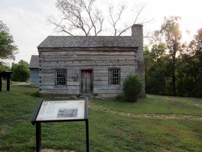 Lincoln Cabin Marker
