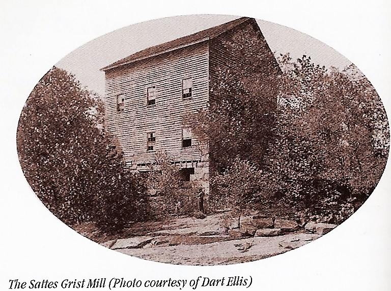 Photo of Sattes Mill from Coalsmouth pg. 78.