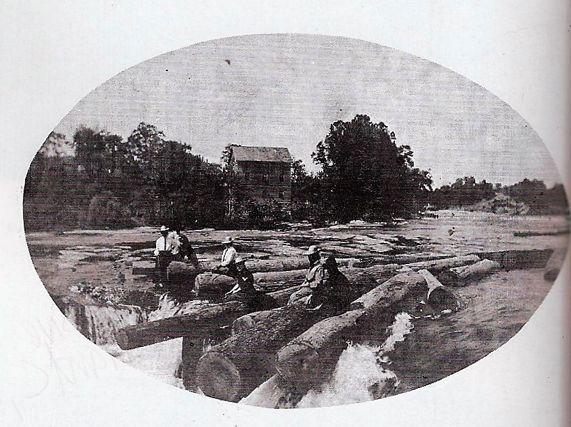 Photo of Sattes Mill from Kanawha County Images pg. 174.