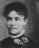 Alice Rowan in 1888. Descendant of LDS Mississippi pioneers that settled San Bernardino, CA and became the area's first black college graduate.