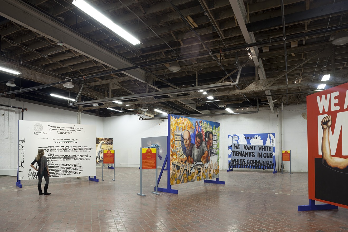 The Past is Present Exhibition in 2013 at MOCAD