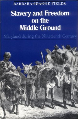 Learn more about slavery and 19th century Maryland with Barabra Fields' book-click the link below for more info.