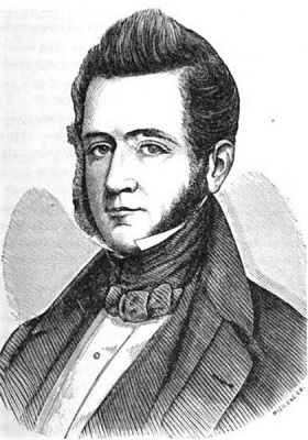 The 1834 cholera outbreak killed the governor of Michigan territory, George Bryan Porter (featured here).