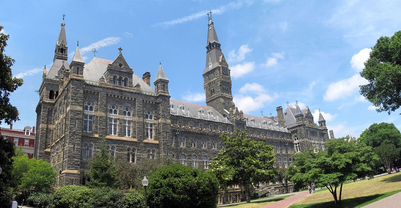 Healy Hall was named in honor of a Georgetown University President who was legally born into slavery and hid his racial identity.