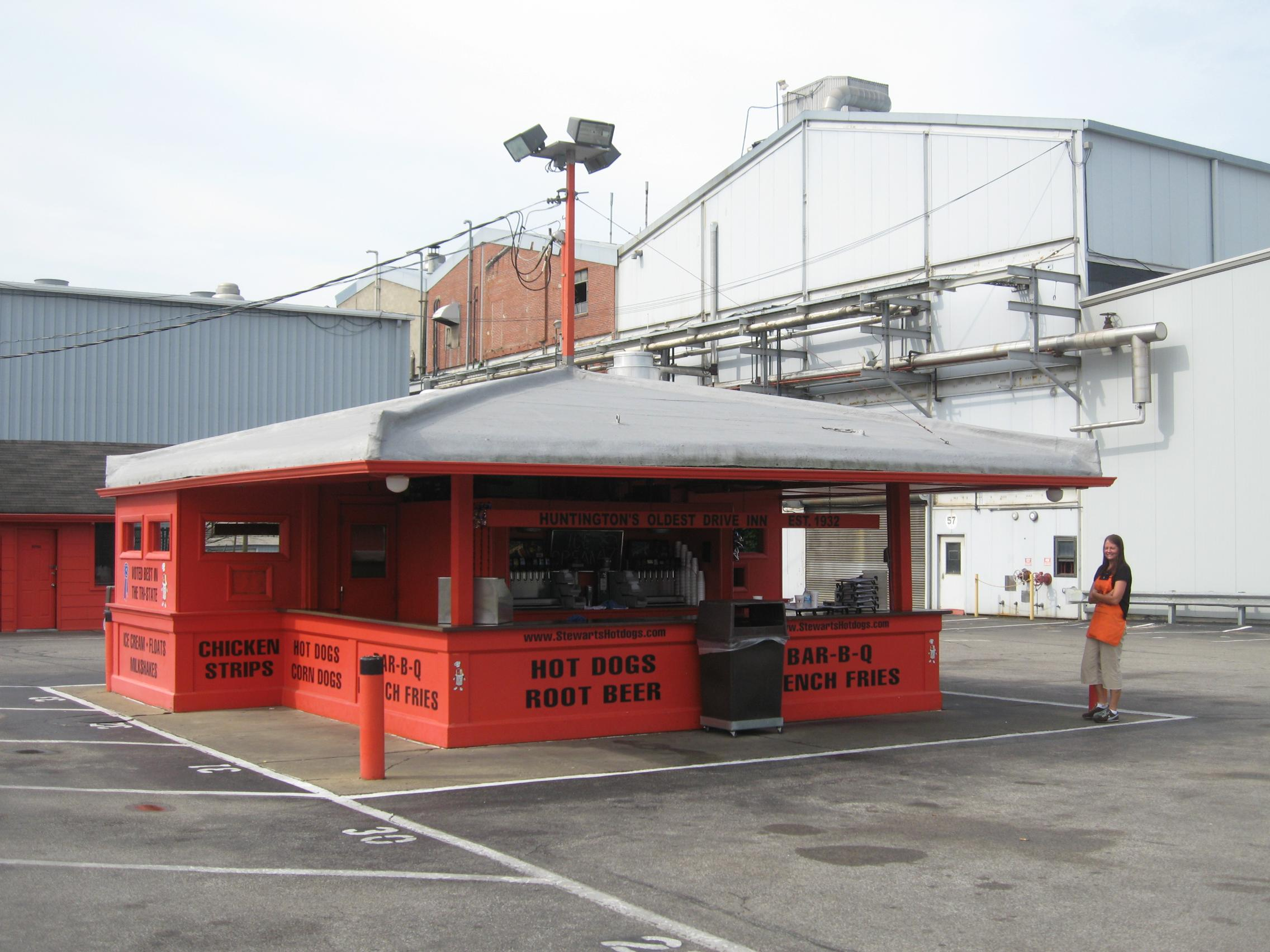 Stewarts Original Hotdog stand today
