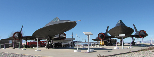 A view of Blackbird Airpark.