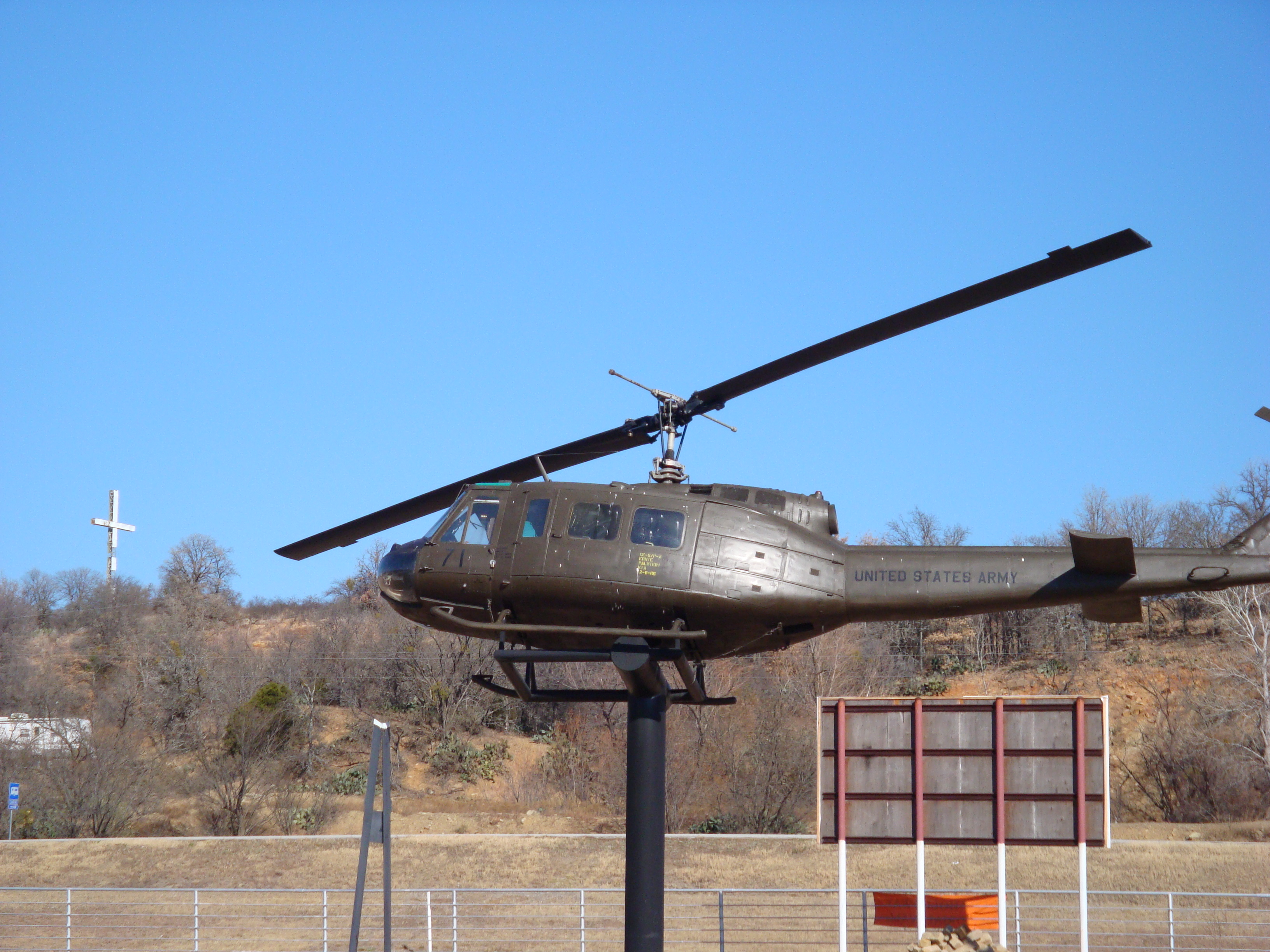 This is a Helicopter that was used during the Vietnam War.