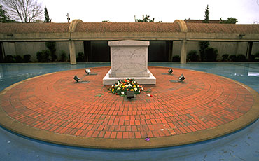 In 1977, a memorial tomb was dedicated, and the remains of Martin Luther King Jr. were moved from South View Cemetery to the plaza that is nestled between the center and the church.