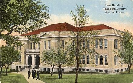 Postcard if the school in the early twentieth century