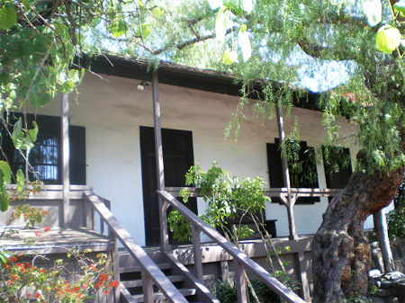 Avila Adobe is open to the public as a museum and is furnished as it might have appeared in the late 1840s.