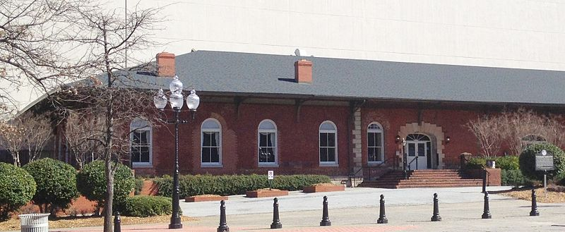 Georgia Railroad Freight Depot