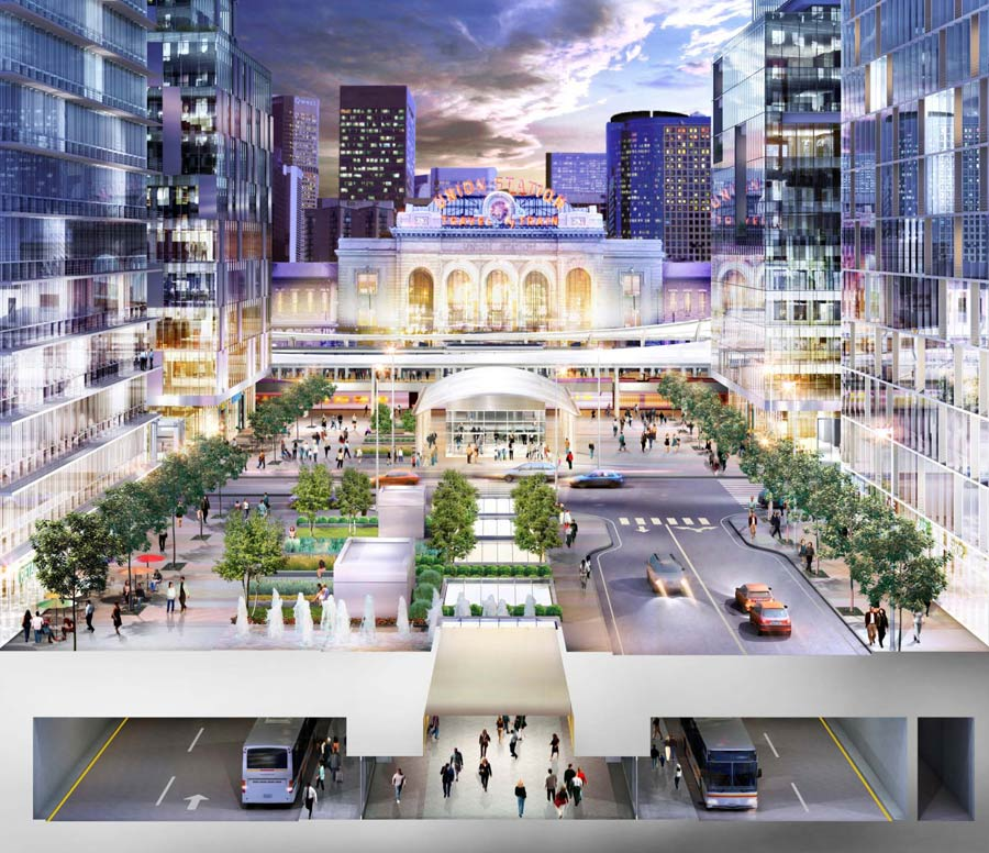 Remodeling is underway to turn Union Station into an entertainment district