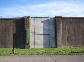 Flood Wall Gate